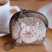 Сумки и аксессуары handmade. Livemaster - original item coin of the naughty pig. Handmade.