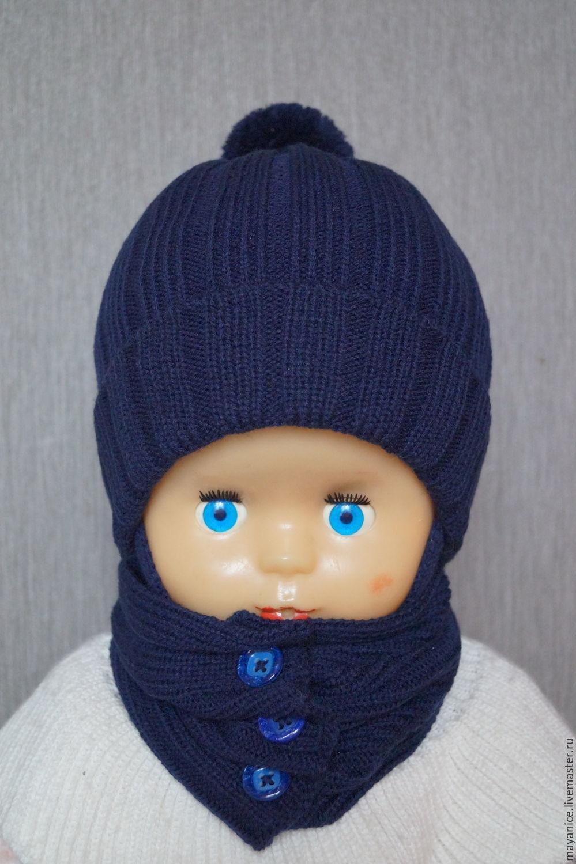 Cap of wool blend yarn 'Antoshka', Caps, St. Petersburg,  Фото №1