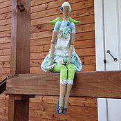 """Куклы и игрушки ручной работы. Ярмарка Мастеров - ручная работа """"Ангел цветущего сада""""2 Кукла Тильда. Handmade."""