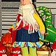 Игрушки животные, ручной работы. ИНТЕРЬЕРНЫЙ ЗАЯЦ. Татьяна Хасанова (Овчинникова) (TaToCHkA-7). Ярмарка Мастеров. Заяц текстильный, джинса