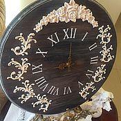 Для дома и интерьера ручной работы. Ярмарка Мастеров - ручная работа Часы настенные Зимнее кантри. Handmade.