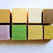 Мыло ручной работы. Ярмарка Мастеров - ручная работа Набор натурального мыла с нуля 8 видов. Handmade.
