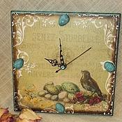 """Для дома и интерьера ручной работы. Ярмарка Мастеров - ручная работа Настенные часы """"Винтаж"""". Handmade."""