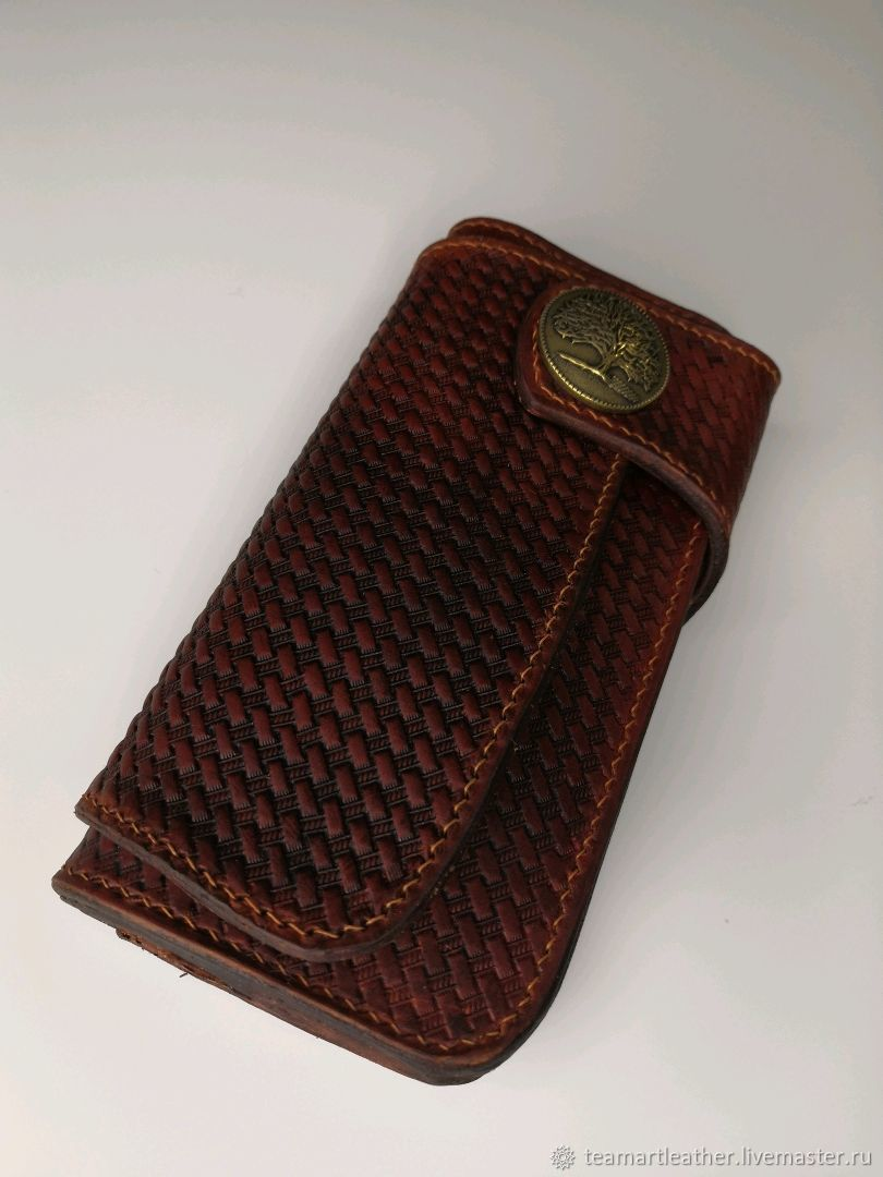 wallet with embossed, Wallets, Rostov-on-Don,  Фото №1