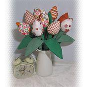 """Куклы и игрушки ручной работы. Ярмарка Мастеров - ручная работа Букет тюльпанов """"Яркая осень"""". Handmade."""