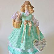 """Куклы и игрушки ручной работы. Ярмарка Мастеров - ручная работа Кукла Тильда в стиле прованс """"Мятная"""". Handmade."""