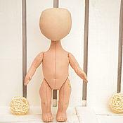 Материалы для творчества ручной работы. Ярмарка Мастеров - ручная работа Заготовка куклы 25 см. Handmade.