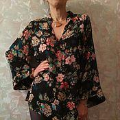 Одежда ручной работы. Ярмарка Мастеров - ручная работа Блузка кимоно. Handmade.