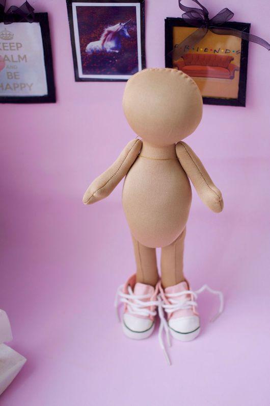 Куклы и игрушки ручной работы. Ярмарка Мастеров - ручная работа. Купить Заготовка для куклы. Handmade. Бежевый, тильда, ткань для игрушек