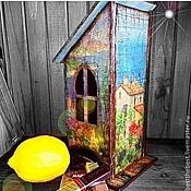 Для дома и интерьера ручной работы. Ярмарка Мастеров - ручная работа У чая тоже есть свой дом. Handmade.