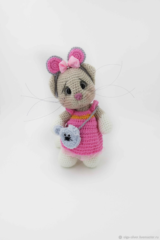 Игрушки: кошка в костюме мышки, Мягкие игрушки, Кумертау,  Фото №1
