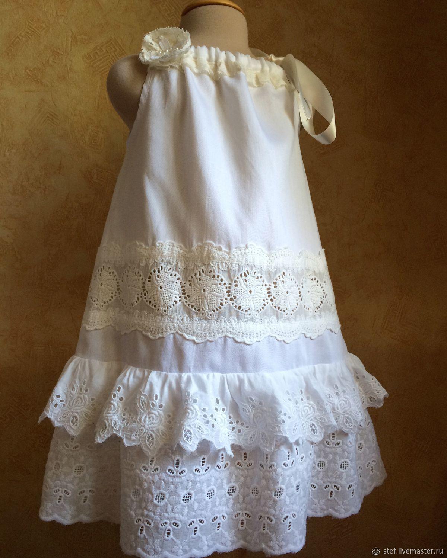 Летний сарафан для девочки, летнее платье для девочки