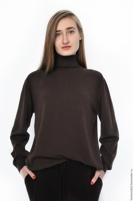купить женский джемпер из кашемира в москве