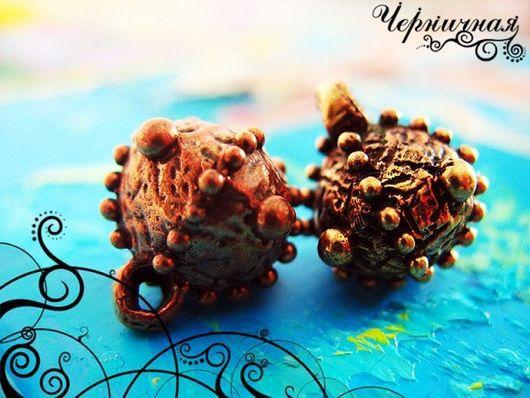 Для украшений ручной работы. Ярмарка Мастеров - ручная работа. Купить Вальс цветов 0828-350 (6). Handmade. Коричневый