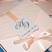 Свадебный салон ручной работы. Ярмарка Мастеров - ручная работа Свадебное приглашение. Handmade.