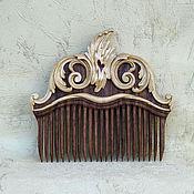 Сувениры и подарки handmade. Livemaster - original item Wooden comb for hair.. Handmade.