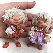 Куклы и игрушки ручной работы. Ярмарка Мастеров - ручная работа Изабелла и Уолтер. Handmade.
