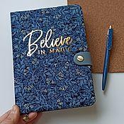 Канцелярские товары handmade. Livemaster - original item Jasmine`s daily Planner. Handmade.