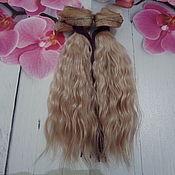 Большеножка ручной работы. Ярмарка Мастеров - ручная работа Большеножка: Волосы для кукол. Handmade.