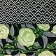 Текстиль, ковры ручной работы. Ярмарка Мастеров - ручная работа. Купить Дизайнерский американский хлопок №1. Handmade. Хлопок, квилтинг