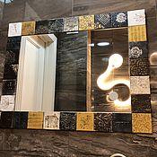 Зеркала ручной работы. Ярмарка Мастеров - ручная работа Зеркало в раме. Handmade.