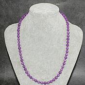 handmade. Livemaster - original item Silver 925pr. Natural Phosphosiderite Beads with Cut. Handmade.