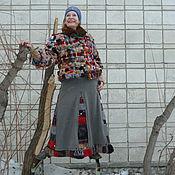 Одежда ручной работы. Ярмарка Мастеров - ручная работа Плетёная шубка. Handmade.