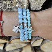 Украшения handmade. Livemaster - original item Bracelets of agate
