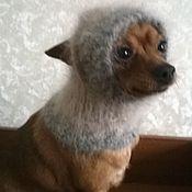Для домашних животных, ручной работы. Ярмарка Мастеров - ручная работа Снуд для русского тоя. Handmade.