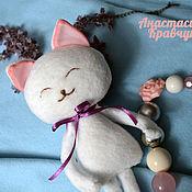Куклы и игрушки ручной работы. Ярмарка Мастеров - ручная работа Сливочные котята. Игрушка ручной работы. Handmade.