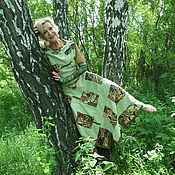 Одежда ручной работы. Ярмарка Мастеров - ручная работа Лоскутная зелень. Handmade.