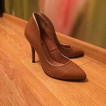 Обувь ручной работы. Ярмарка Мастеров - ручная работа Туфли: Лаура Клемент. Handmade.