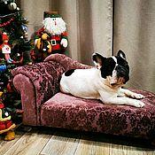 Зоотовары handmade. Livemaster - original item Sofa for dogs, cats to order in size.. Handmade.
