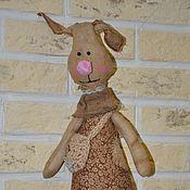Куклы и игрушки ручной работы. Ярмарка Мастеров - ручная работа Чердачная Зайка. Handmade.