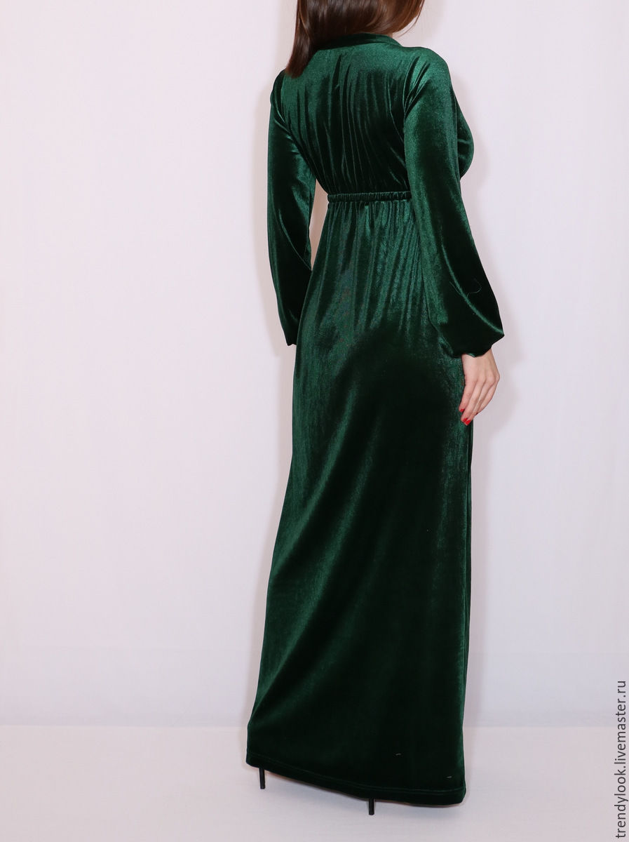 Платье с длинным рукавом с доставкой