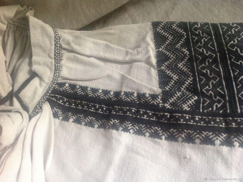 Народная рубаха, Народные костюмы, Москва, Фото №1