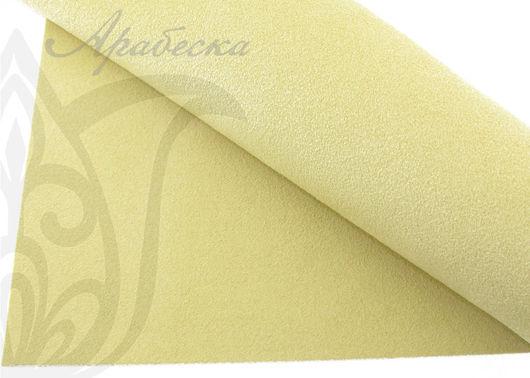 Мягкая ультразамша Ultrasuede для вышивки песочного цвета BEADSMITH (Япония)