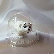 Мыло ручной работы. Ярмарка Мастеров - ручная работа Полярный медвежонок. Handmade.