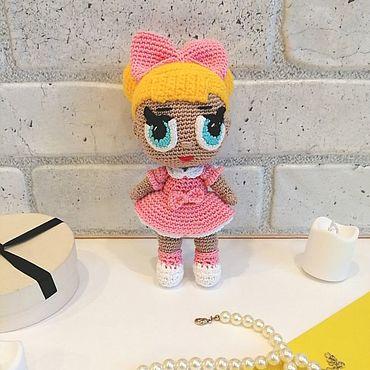 Куклы и игрушки ручной работы. Ярмарка Мастеров - ручная работа Куклы: Куколка ЛОЛ. Handmade.