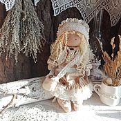 Куклы и игрушки ручной работы. Ярмарка Мастеров - ручная работа Лиза - нежная, добрая девочка. Интерьерная кукла ручной работы.. Handmade.
