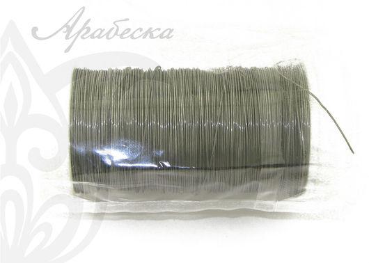 Проволока флористическая темно-стального цвета 0.35мм 100м/упак RAYHER (Германия)