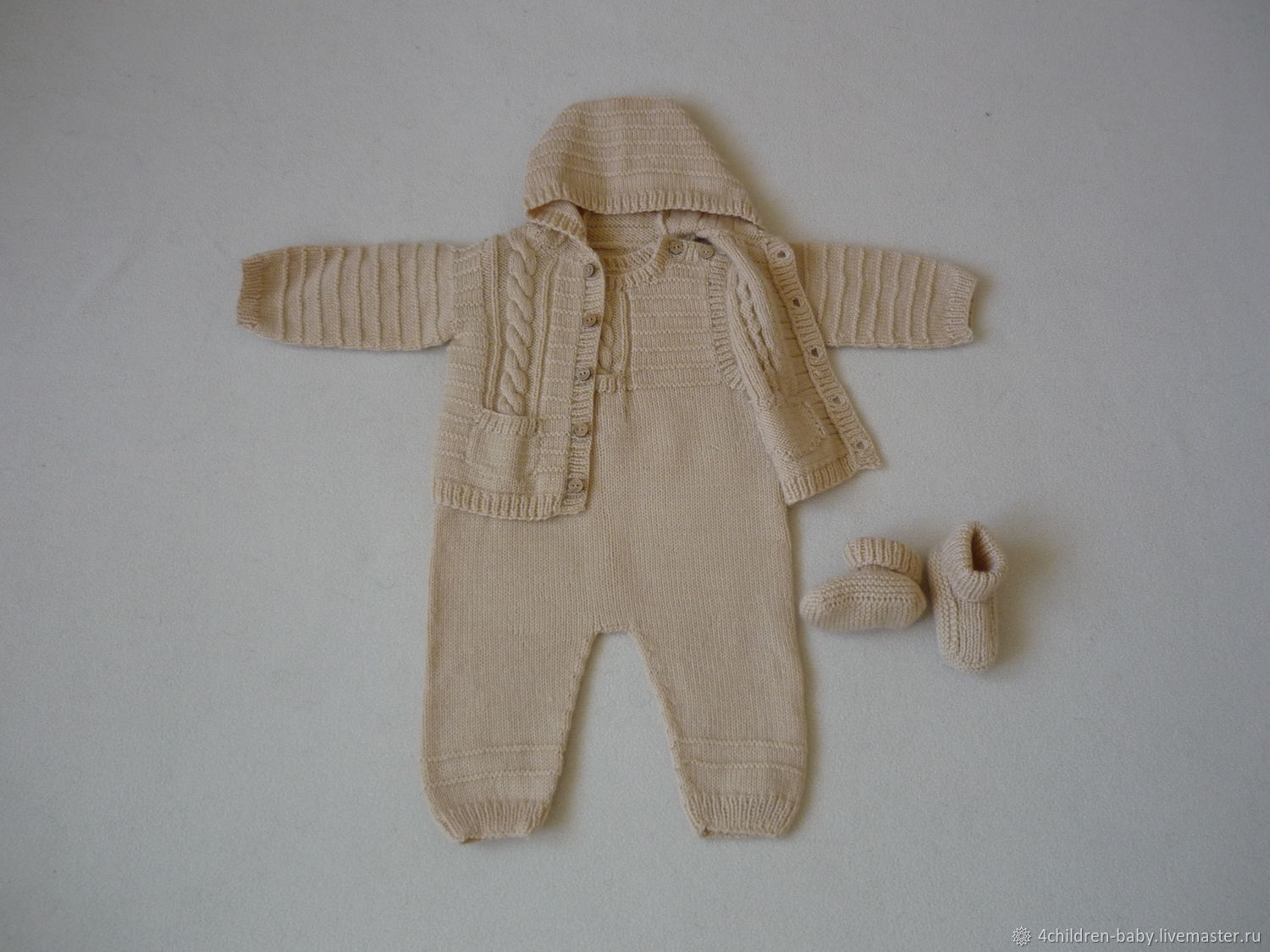 Hand knitted kit for boy, Baby Clothing Sets, Moscow,  Фото №1