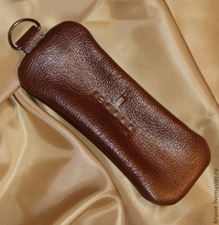 Key holders of leather Redbag, Gifts, St. Petersburg, Фото №1