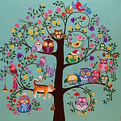 """Картины и панно ручной работы. Ярмарка Мастеров - ручная работа Картина """" Дерево"""". Handmade."""