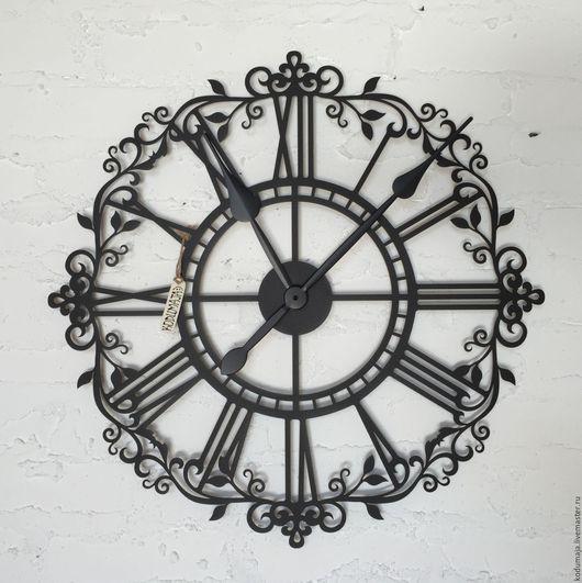 """Часы для дома ручной работы. Ярмарка Мастеров - ручная работа. Купить Часы 60см с увеличенными стрелками """"Aaris"""". Handmade. Часы"""