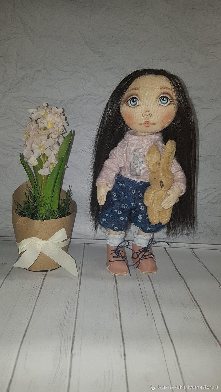 Текстильная кукла, Портретная кукла, Тольятти,  Фото №1