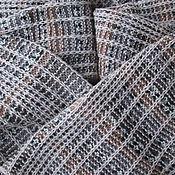 """Аксессуары ручной работы. Ярмарка Мастеров - ручная работа """"Русское поле"""" кашемировый шарф ручной вязки для настоящих богатырей. Handmade."""