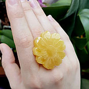 handmade. Livemaster - original item Amber. Ring