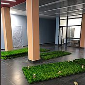 Для дома и интерьера handmade. Livemaster - original item Panels of moss. Handmade.