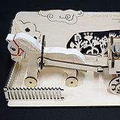 Куклы и игрушки ручной работы. Ярмарка Мастеров - ручная работа Лошадка с большой тележкой и ништяками. Handmade.